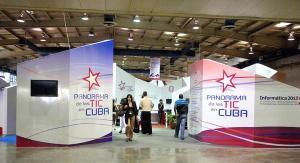Stand Cuba en Feria Informática 2013. Foto: AIN