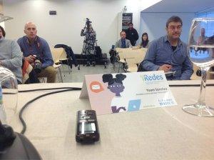 Pobrísima convocatoria para escuchar a Yoani Sánchez en evento iRedes de Burgos, España