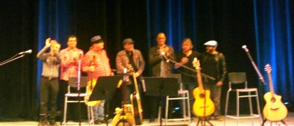 Manuel Jiménez, Juan Carlos Pérez Soto, Víctor Víctor, Silvio Rpodríguez, José Antonio Rodríguez, Fernando Osorio y Pável Núñez.