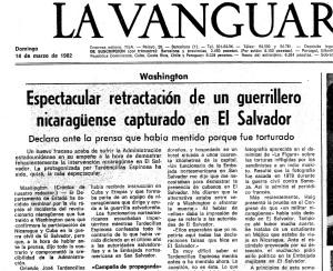La Vanguardia, 1982
