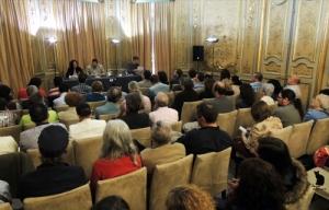 """Presentación de """"Sospechas y disidencias"""" en Madrid."""