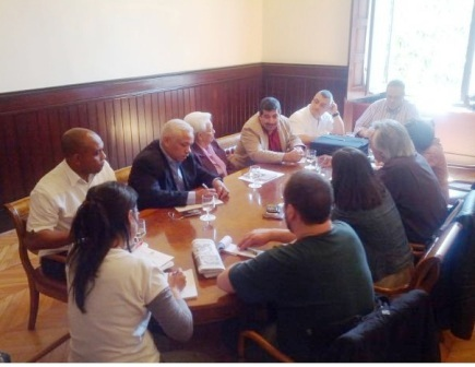 Wncuentro con diputados en el parlamento catalán