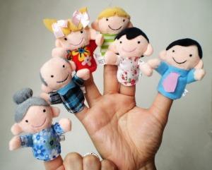 titeres-de-dedo-familia