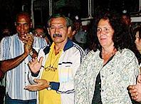 Alejandro, el primero a la izquierda. Foto: Granma