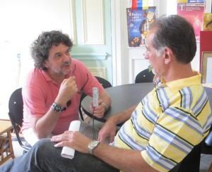 Edmundo García  entrevista a René González