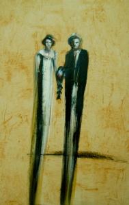 """Padres, Ernesto Racaño, 2008. Inspirada en el Libro de Katiuska Blanco """"Todo el Tiempo de los Cedros"""""""