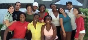Estudiantes de medicina norteamericanos en Cuba
