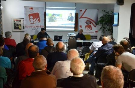 Conferencia en el Ateneo de la Calzada, Gijón