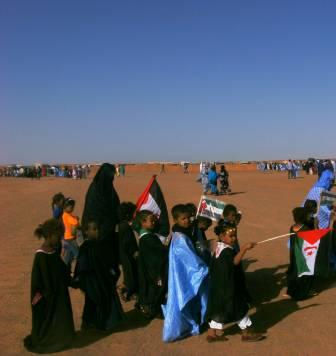 Niños Sahara en Dajla