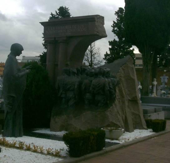 Monumento a los soldados soviéticos que combatieron por la República española
