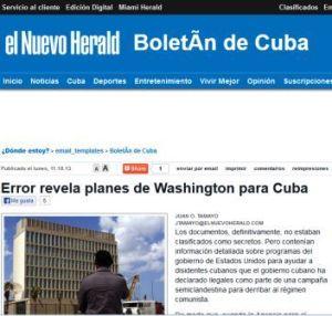 Lo que publicó El Herald