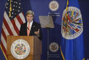 Kerry habla sobre Cuba en la OEA