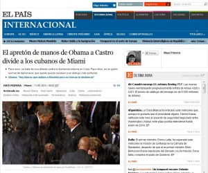 Raul Castro-Obama-El Pais.