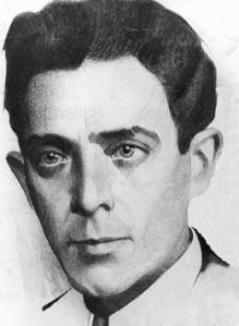 Rubén dibujado por el prisionero político cubano en EE.UU. Antonio Guerrero