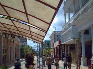 Boulevard de la ciudad de Ciego de Ávila