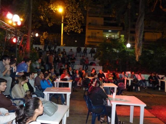 Público asistente a La pupila asombrada. Foto: Rafael de la Osa