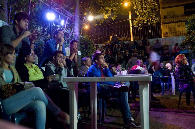 Parte del público en La pupila asombrada. Foto: Alejandro Abella