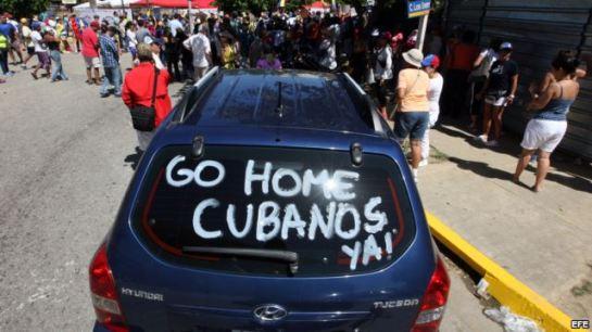 Agresión contra peloteros cubanos en Isla Margarita. Foto EFE