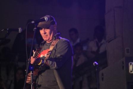 Vicente Feliú en concierto de bienvenida a Fernando González.