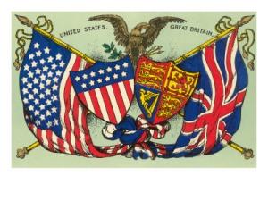 estados-unidos-reino-unido-banderas-y-sellos