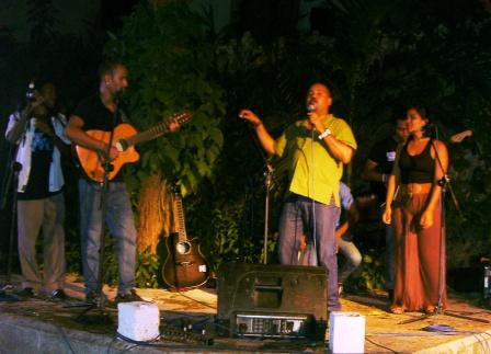 La actuación de Alexis Díaz Pimienta y sus invitados constituyó el centro de La pupila asombrada.