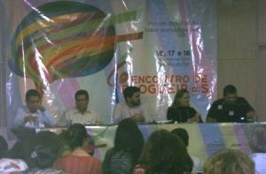 Panel sobre medios en América Latina en Encuentro Nacional de Blogueros y Activistas digitales de Brasil.