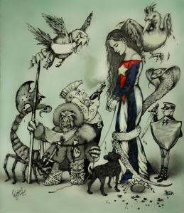 Ilustración de Yadira Escobar