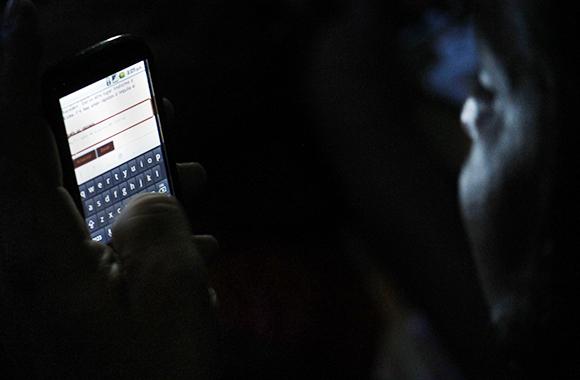 El WiFi de La pupila asombrada volvió tener muy activo su chat. y la descarga de contenidos.