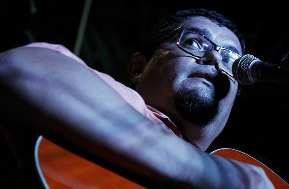 Eduardo Sosa en La pupila asombrada.