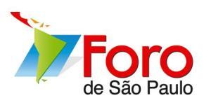 XIX edición del Foro de Sao Paulo Brasil 2013