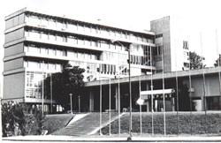 La CUJAE, inaugurada por Fidel en 1964.