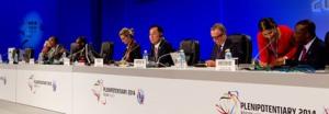 Presidencia de la Conferencia de la UIT en Busán