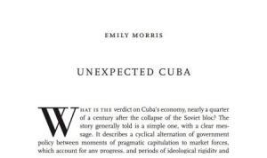 El mejor análisis sobre la economía cubana