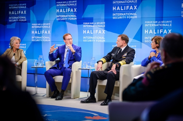 Participantes en el Halifax Security Forum
