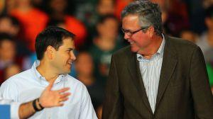 Marco Rubio y Jeb Bush.