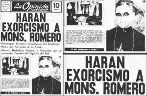 Así trataba la prensa oligárquica a Monseñor Romero.