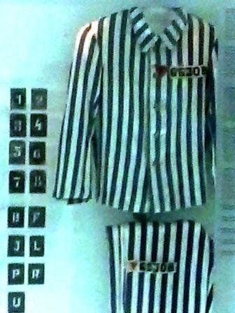 Uniforme de los prisioneros.
