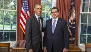 Obama y el embajador cubano José Cabañas