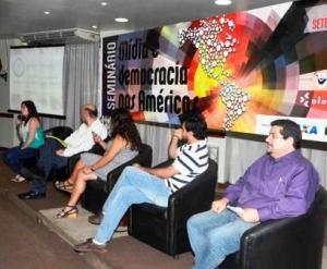 Psanel en Seminario Internacional Medios y democracia en las Américas.
