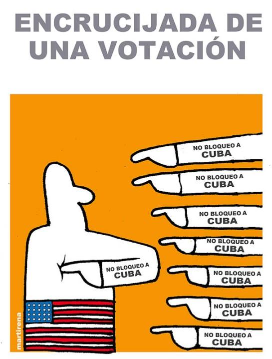 Caricatura de Martirena/CubAhora
