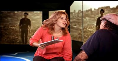 Karen y Fidel Díaz Castro en La pupila asombrada.