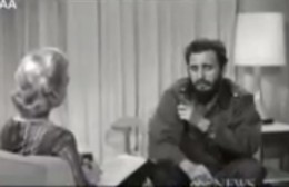 Fidel conversa con Lisa Howard en 1964 (video original)