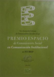 Otro Premio paraEcuRed