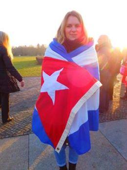 """Yo también grité """"Viva Fidel"""" en la Plaza. Por StephanieRemus"""