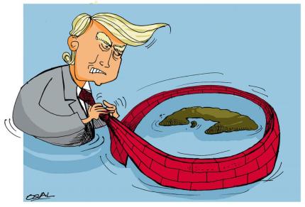 Resultado de imagen para Trump y el bloqueo al ciberespacio cubano. Por Omar Pérez Salomón