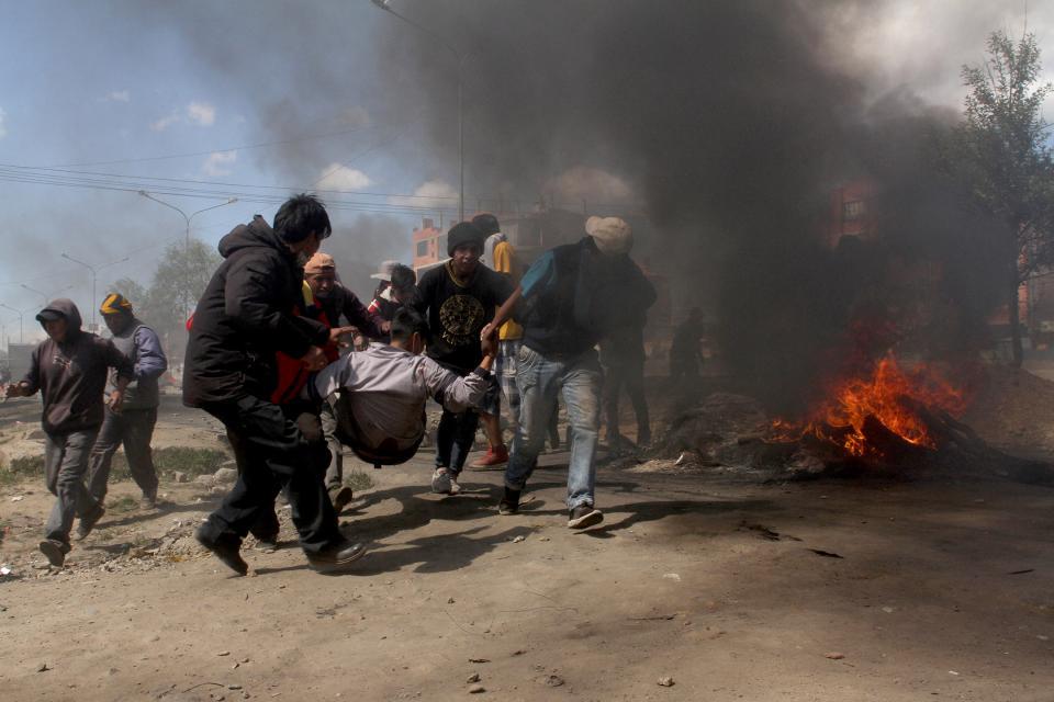 Bolivia. Las venas abiertas y otros relatos. Por Julio Alcorta