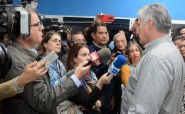 Los cambios en la economía cubana. Miguel Díaz-Canel responde a la agenciaEFE.