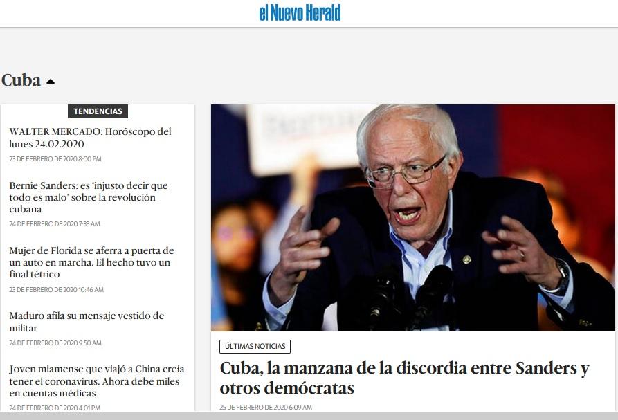 Sanders: ahí viene el coco. Por Ángel Guerra Cabrera